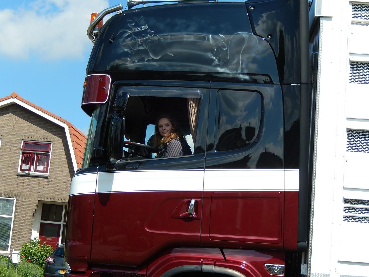 czy warto zostać kierowcą ciężarówki